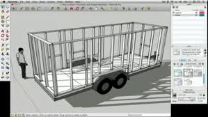 how to draw a tiny house with google sketchup u2013 part 1