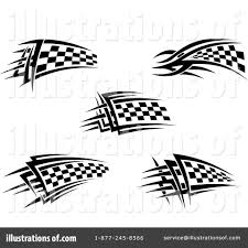 Checkered Flag Eps Checkered Flag Clipart 1110371 Illustration By Vector Tradition Sm