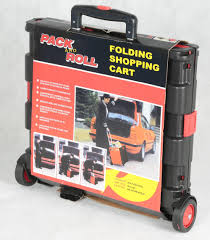 box cart plastic box pack and n roll folding trolley cart buy pack and
