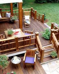 Find This Pin And More On Decks Adorable Small House Design Ideas - Backyard deck designs plans