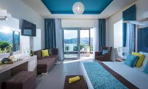 chambre vue sur mer blue bay resort hotel crete hotels in crete heraklion