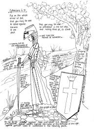 free pdf coloring pages the armor of god you can download here a free pdf of the model in