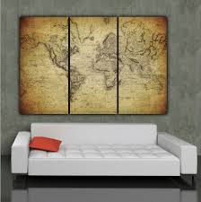 Wall Decor Canvas Best 25 World Map Wall Decor Ideas On Pinterest Travel Wall
