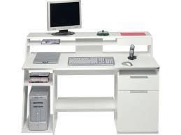bureau informatique blanc laqué bureau ordinateur blanc laqu armoire bureau blanc lepolyglotte