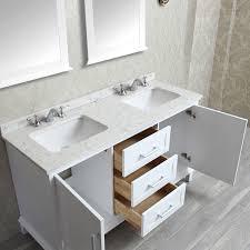double sink bath vanity ariel by seacliff nantucket 60 double sink bathroom vanity set
