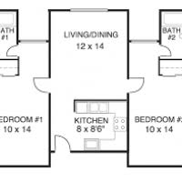 Basic 2 Bedroom House Plans Justsingit Com