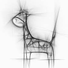 free illustration giraffe animal drawing pencil free image