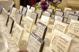 Place Cards Wedding Chocolate Wedding Favors Chocolate Place Cards Chocolate Menus