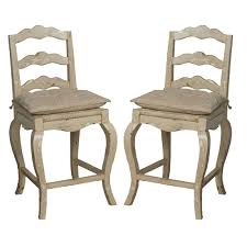 provencal off white counter stools