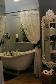vintage french mermaid shower curtain bathroom design vintage