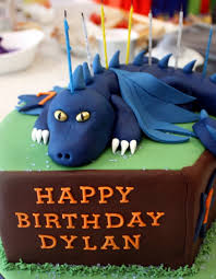 dragon 7th birthday cake vanilla bean cake company