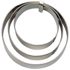 Sho Glatt terrassen ausstecher ring glatt 3 teilig 3 60 sho