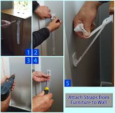 Furniture Wall Straps 33 Off Anti Tip Furniture Straps 8 Pack Best Anchors For Any
