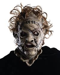 leatherface mask chainsaw 3d leatherface 3 4 mask
