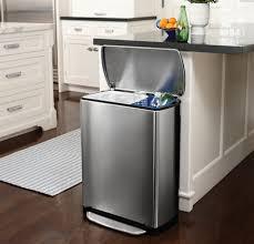 kitchen bin ideas rectangular recycle bin 46 ltr kitchen kitchens
