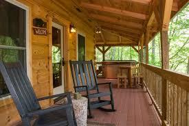 cabin porch north carolina honeymoon cabin with mountain view hot tub