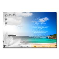 Beach Theme Wedding Invitations Wedding Invitations Beach Theme Template Best Template Collection
