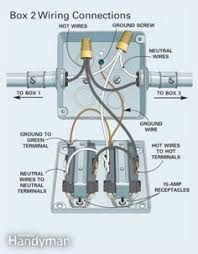 parallel wiring two outlets in one box electric wire light