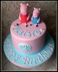 George Pig Cake Decorations 111 Best Peppa Pig Cakes Images On Pinterest Peppa Pig Cakes