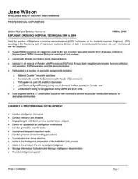 Security Engineer Resume Government Job Resumes Example Image Simple Resume Examples For