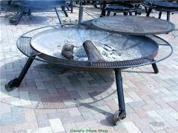 Firepit Grills 72 Outdoor Pit With Grill Top Made In Davids E