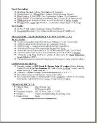 format of fresher resume how important are sensory images in