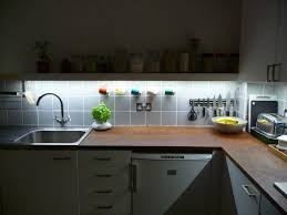 Led Strip Lights In Kitchen by 20 Big Ideas For Small Kitchens Brit Co