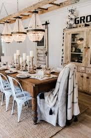 simple neutral fall farmhouse dining room liz marie blog neutral rustic fall dining room a farmhouse style dining room