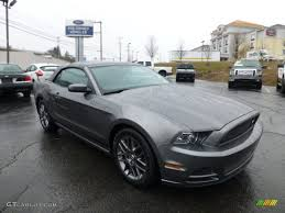 2013 Ford Mustang Black 2013 Sterling Gray Metallic Ford Mustang V6 Mustang Club Of