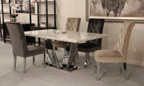 grey marble dining table china modern furniture stainless steel cream white marble dining