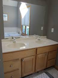 Bathroom Vanities Mirror Catchy Oak Vanity Light Updating Bathroom Vanity Mirror And