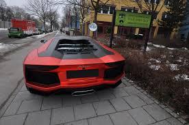 Lamborghini Aventador Chrome - aventador wearing matte red chrome wrap