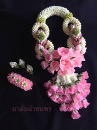 flower decoration for hair thai flowers design garlands