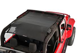 jeep wrangler overhead storage all things jeep spiderweb shade tops