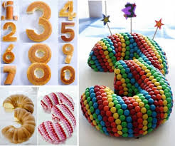 the perfect diy stunning number cake the perfect diy
