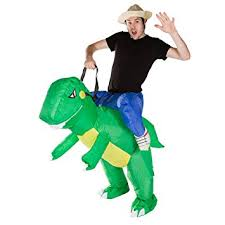 amazon com bodysocks inflatable dinosaur piggyback blow up