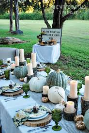 Fall Backyard Party Ideas by 433 Best Fall Entertaining Images On Pinterest Thanksgiving