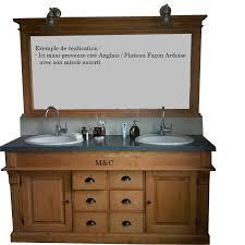 meuble de salle de bain avec meuble de cuisine meuble salle de bain retro