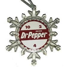 dr pepper snow 10 4 2 snowflake multi light tree