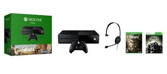 amazon black friday deal xbox1 latest xbox one bundle comes with fallout 4 and 3 slashgear