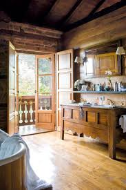 Cabin Bathrooms Ideas by 183 Best Rustic Kitchens U0026 Baths Images On Pinterest Home