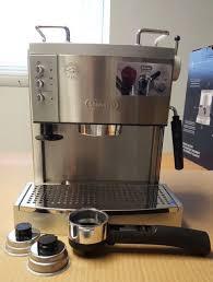 DeLonghi EC702 5 Cups Coffee & Espresso bo Silver