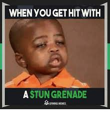 How To Meme A Video - when you gethit with a stun grenade a gaming memes meme on sizzle