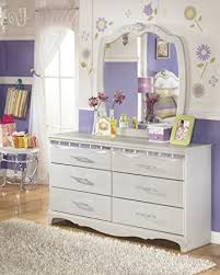 Bedroom Dresser Mirror S Bedroom Silver And Pearl Dresser Mirror