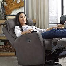 Kingvale Power Recliner Power Tilt Headrest Best Home Furnishings