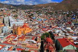 Colorful City Guanajuato Song Of The Road