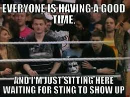 Wrestlemania Meme - aaron sharing words let s talk tunes tv movies comedy