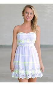 sun dress white neon yellow sundress white neon lime sundress