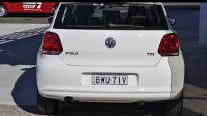 2011 volkswagen polo 6r my11 77tsi comfortline white 6 speed