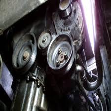 volkswagen golf power steering pump replacment youtube
